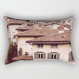 Bergamo rooftops Rectangular Pillow