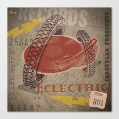 Eclectric Vibes Canvas Print