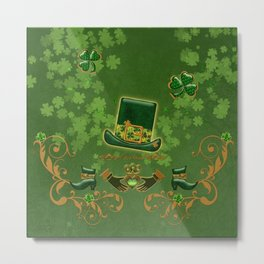 Happy st. patricks day Metal Print