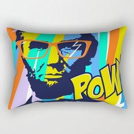 HIPSTER LINCOLN POP ART Rectangular Pillow