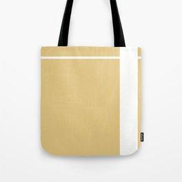 Gold Stripe (2) Tote Bag