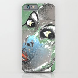 Lady Green iPhone Case