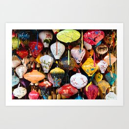 Lanterns of Hoi An, Vietnam III Art Print