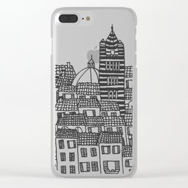 Siena, Italy Clear iPhone Case