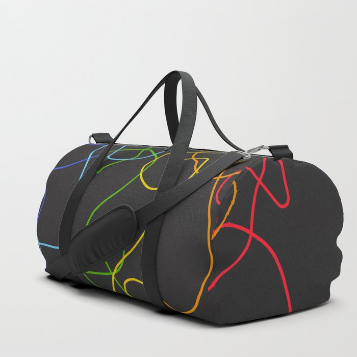 Crooked Lines #2 Duffle Bag