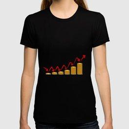Rising Money Steps T-shirt