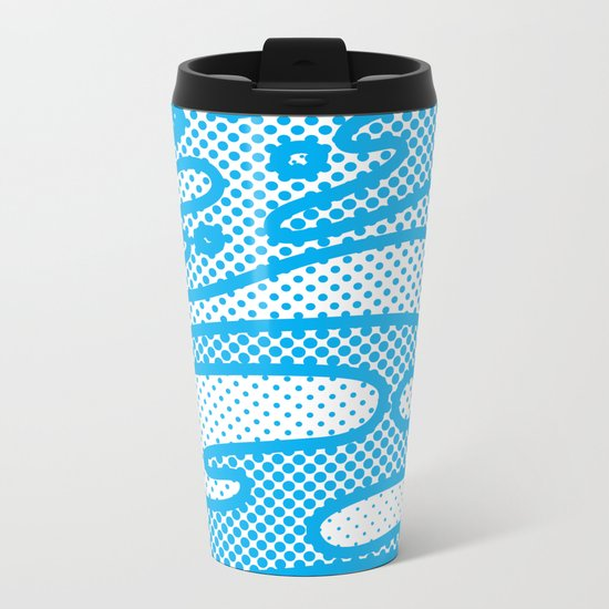 Pop Camo Metal Travel Mug