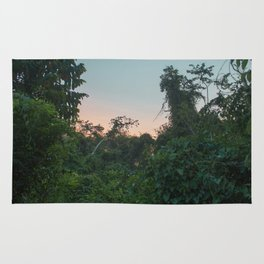 Jungle Sunset Rug