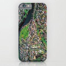 Hamilton City, New Zealand - Aerial view  iPhone 6s Slim Case