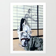 Forced Entry II Art Print