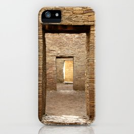 Chaco Canyon, March 2007 iPhone Case