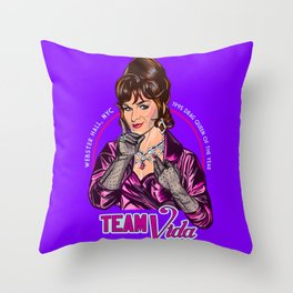 Team Vida Throw Pillow