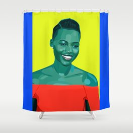 Actual Icon Shower Curtain