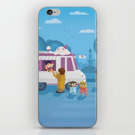 The Nick Yorkers in August iPhone Skin