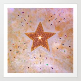 Star of Wonder Art Print
