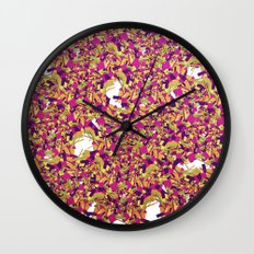 Color pieces Wall Clock