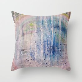 11 11 11 11 WaterFall Vortex Throw Pillow