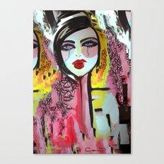 Art Darling Canvas Print