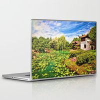 chinese Laptop & iPad Skins featuring Chinese Gardens by Photos By Healy