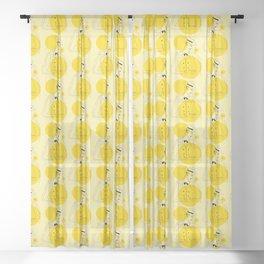 Fernando Pessoa 3 Sheer Curtain