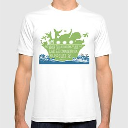 Noahs Ark - Bible - And Noah Did According to All that God had Commanded him T-shirt