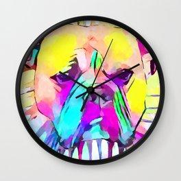 Bulldog 2 Wall Clock