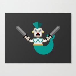 Delightful Mermaid Canvas Print
