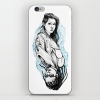 cosima iPhone & iPod Skins featuring sarah and cosima by hille