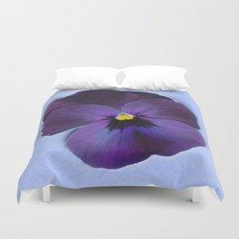 Ultra violet viola tricolor Duvet Cover
