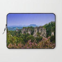 Elbsandstein Mountain Evening Laptop Sleeve