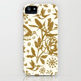 Oh, beautiful garden of mine iPhone Case