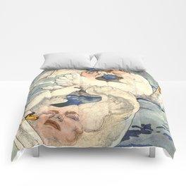 Magical Anatomy:  Swans Comforters