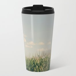 Campos de maíz Metal Travel Mug