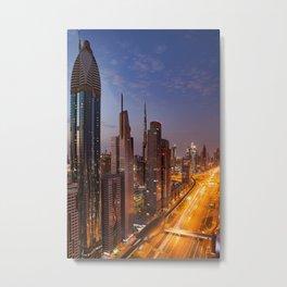 Dubai #society6 #decor #buyart Metal Print