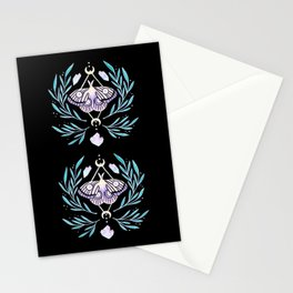 Moon Moth 01 Stationery Cards