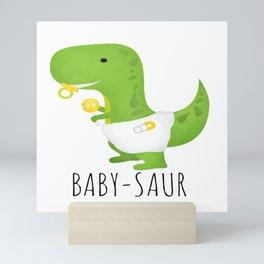Baby-saur Mini Art Print