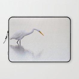 Stalking Egret Laptop Sleeve