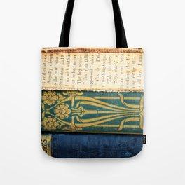 Antique Book Textures Tote Bag