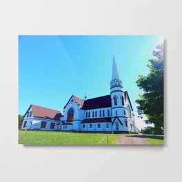 St. Mary's Church front view Metal Print