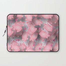 Pink Piggies Laptop Sleeve