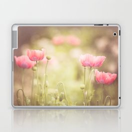 Pink Poppy Laptop & iPad Skin