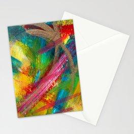 Sunset Gold Stationery Cards