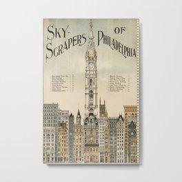 Vintage poster - Philadelphia Metal Print