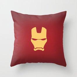 Iron hero, Comic Throw Pillow