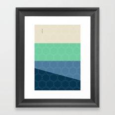 Geo Block No. 3 Framed Art Print