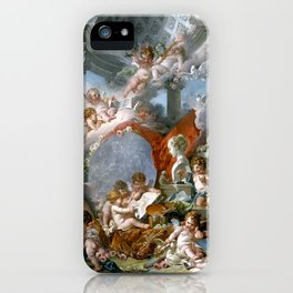 Geniuses of the Arts - Francois Boucher iPhone Case