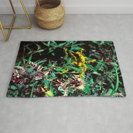 Yellow Flower of the Wood Rug
