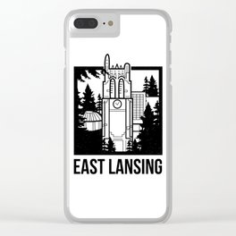 East Lansing, MI Clear iPhone Case
