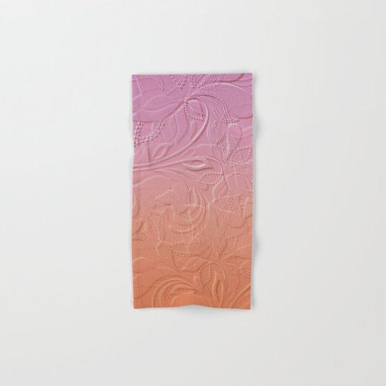 Flower Fantasy Hand & Bath Towel
