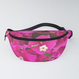 Pink Flower Bloom Fanny Pack